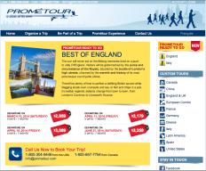 Prometour Themed trips England Open Tour