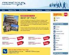 Prometour Themed trips Italy Open Tour