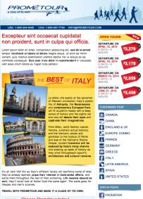 Italy Open Tour