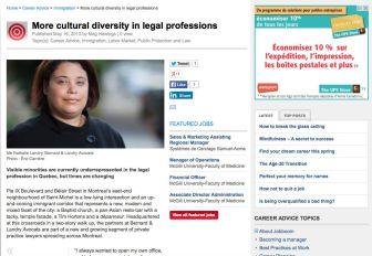 More cutural diversity