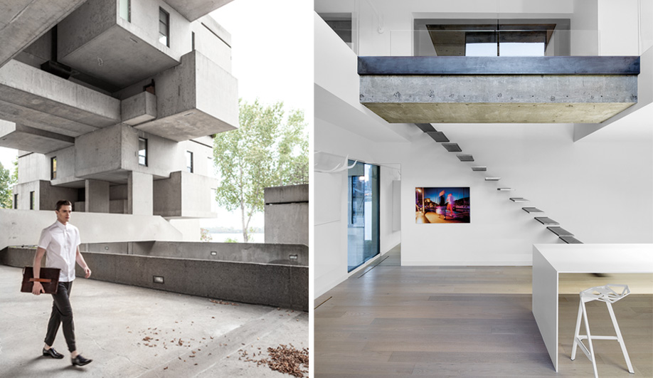 A Habitat 67 Apartment Gets A Fresh Makeover Austin